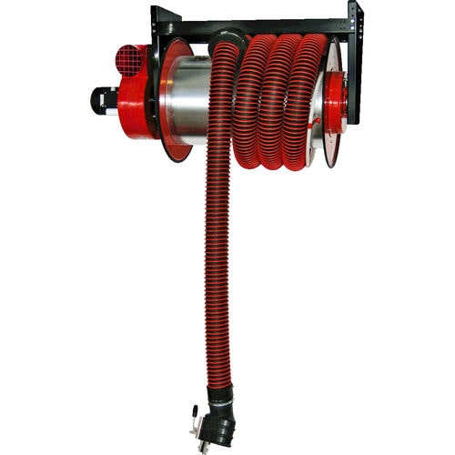 Hose reel / spring / wall-mounted / exhaust extraction hose ALAN KLIMAWENT