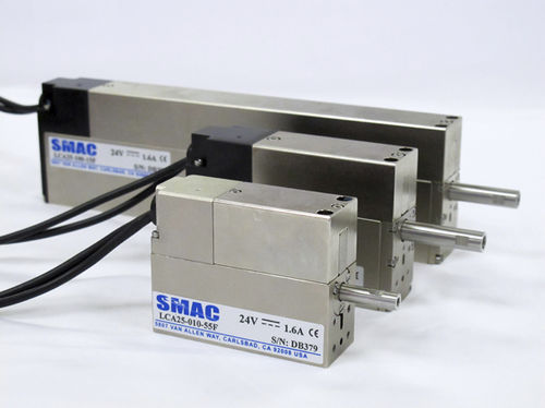 Electric servo-cylinder / programmable LAL & LAS series SMAC Moving Coil Actuators