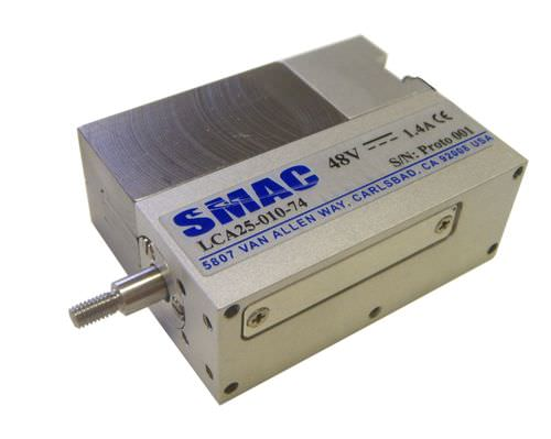 Electric cylinder / high-speed LCA 25 Series SMAC Moving Coil Actuators