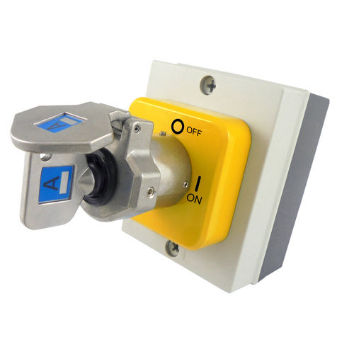 key lock switch / selector / multipole / polycarbonate