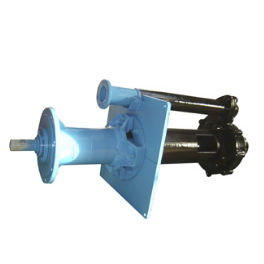 slurry pump / with electric motor / impeller / for the chemical industry