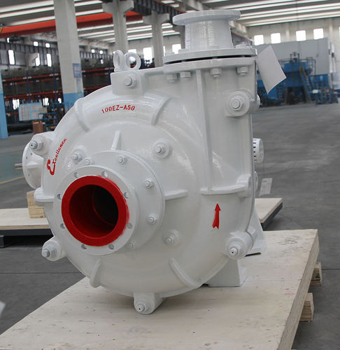 slurry pump / with electric motor / impeller / for the mining industry