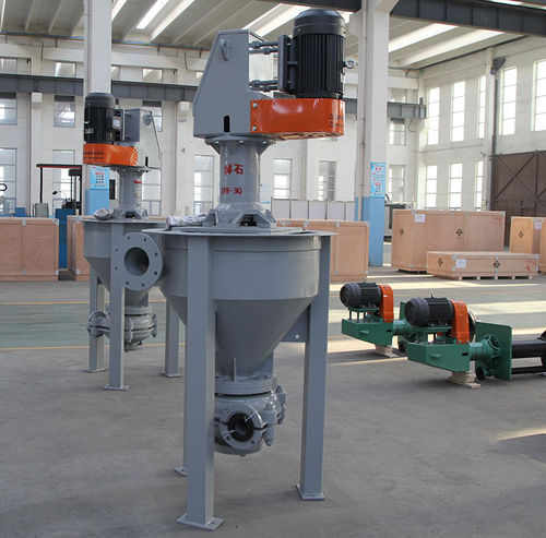 slurry pump / with electric motor / semi-submersible / impeller