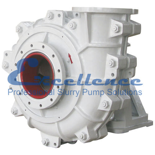 slurry pump / with electric motor / centrifugal / abrasion-resistant