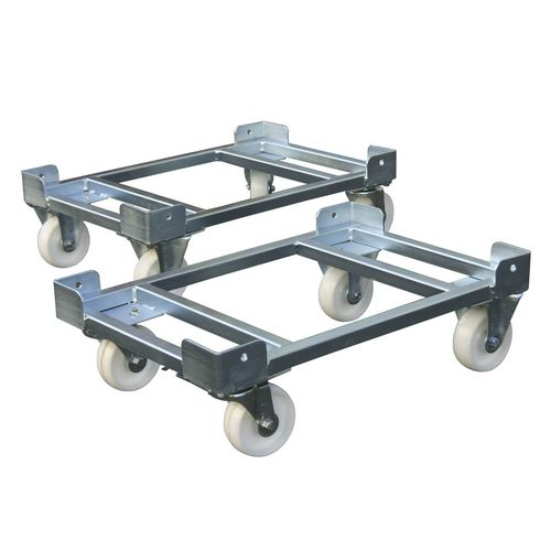 Handling cart / transport / for Euro containers / pallet 2.1 | 810 x 610 mm | 400 kg | 521-6000-02 LKE GmbH - Experts in Material Handling