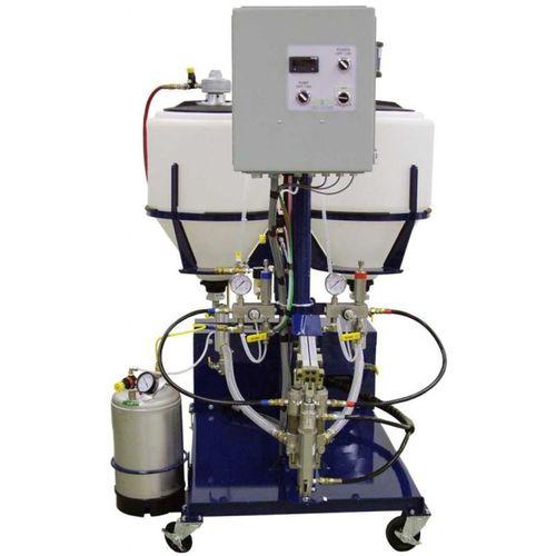 two-component pultrusion resin dosing unit / volumetric / piston / hydraulic motor