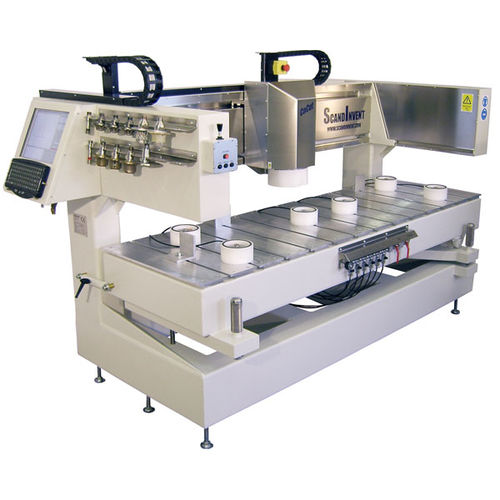 CNC milling-engraving machine / 3-axis / universal / stone 1500 x 630 x 100 mm | C3 ScandInvent