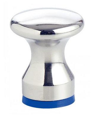 mushroom knob / threaded / stainless steel / hygienic