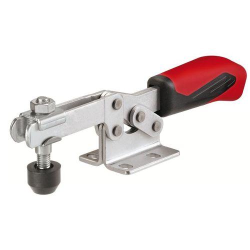 horizontal toggle clamp / zinc-coated steel