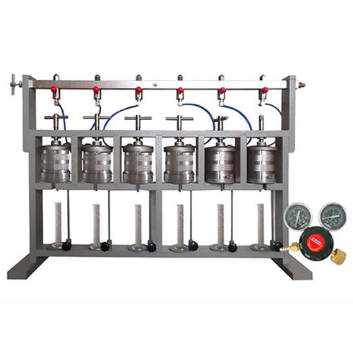 slurry filter press / for laboratories