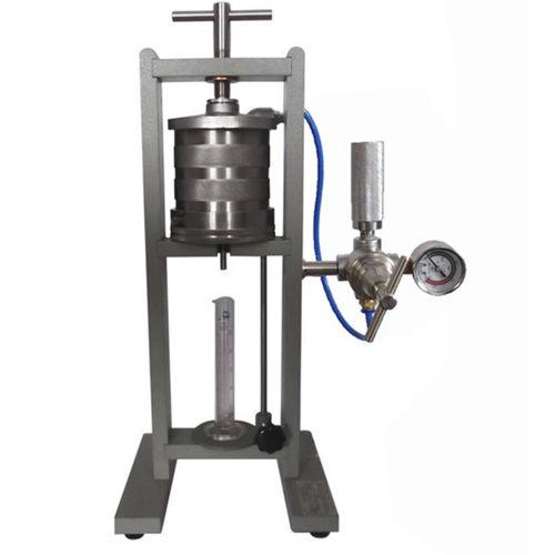laboratory filter press / for slurry