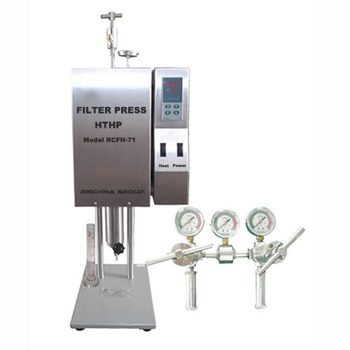 automatic filter press / for slurry / for laboratories / HTHP