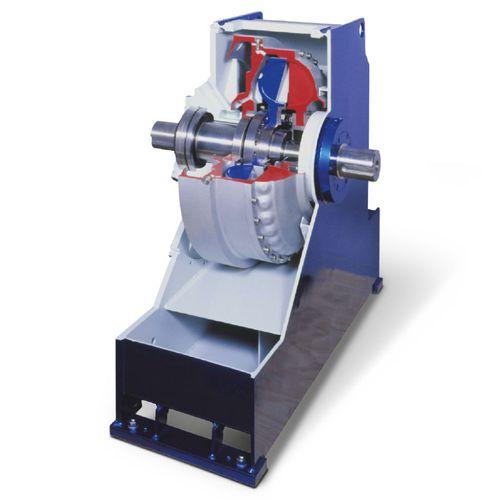 fluid coupling / for shafts / transmission / motor