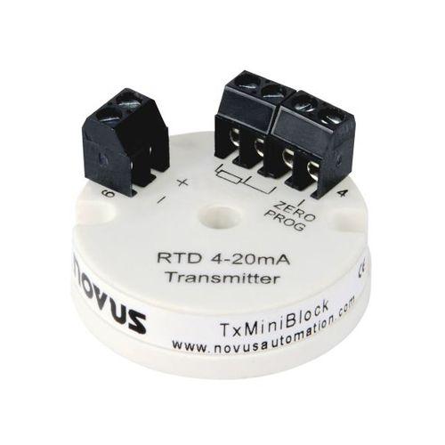 probe head-mounted temperature transmitter / RTD / 4-20 mA / smart