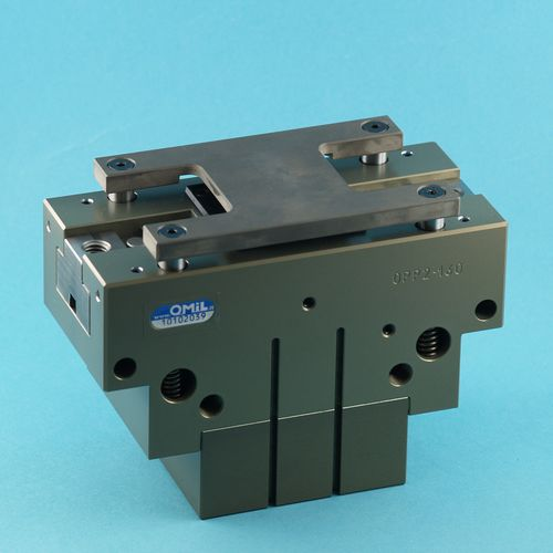 pneumatic gripper / parallel / 2-jaw / compact