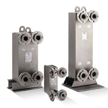 welded plate heat exchanger / liquid/liquid / gas/liquid / gas/gas