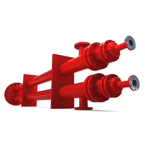 hairpin heat exchanger / liquid/liquid / gas/liquid / gas/gas