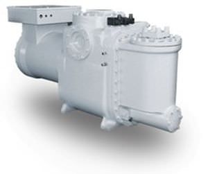 Semi-hermetic refrigeration compressor / screw / R134a / R22 HSS series J & E Hall International