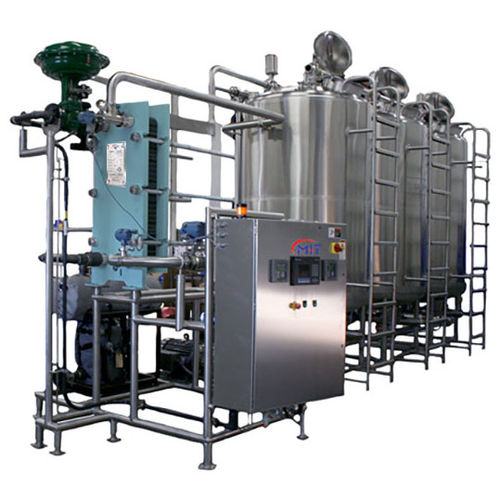 CIP clean-in-place unit / for the food industry