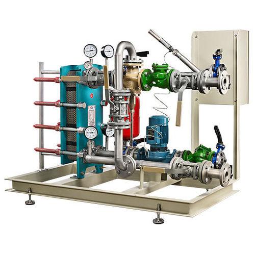 floor-standing heating system