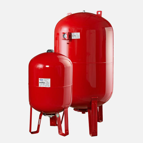 thermal expansion tank / for liquids / vertical