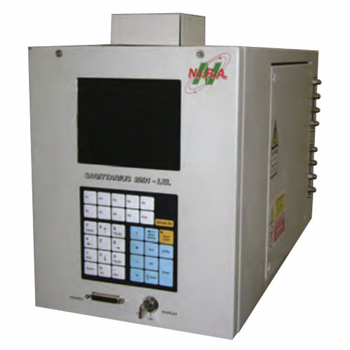 flammable gas detector / gas / flame ionization / monitoring