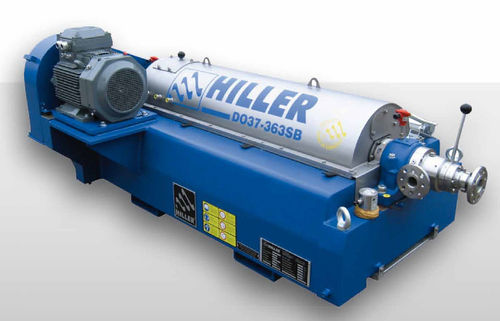 centrifugal decanter / horizontal / industrial / 3-phase