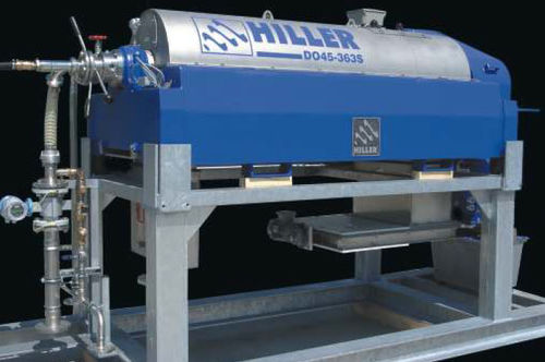 industrial decanter / centrifugal / horizontal / 3-phase