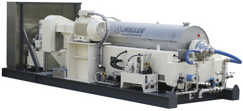 decanter for the food industry / for the beverage industry / centrifugal / horizontal