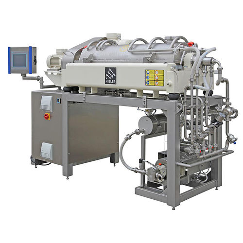 Centrifugal decanter / horizontal / for the food industry / for the beverage industry DecaFood® Hiller GmbH