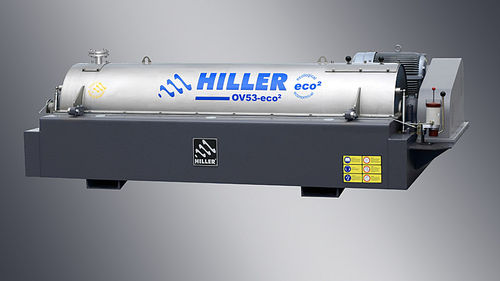Centrifugal decanter / horizontal / for olive oil / for the food industry OV® Hiller GmbH