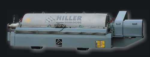 Centrifugal decanter / horizontal / 3-phase DecaOil® Hiller GmbH