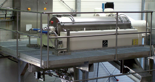 Centrifugal decanter / horizontal / for the food industry / for the beverage industry DECANTER Hiller GmbH