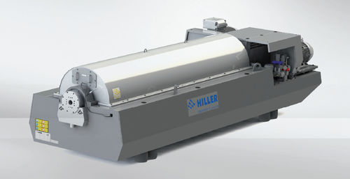 Centrifugal decanter / horizontal / for sludge dewatering / for wastewater DP664, DP764 Hiller GmbH