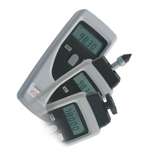 optical tachometer / handheld / digital / 5-digit