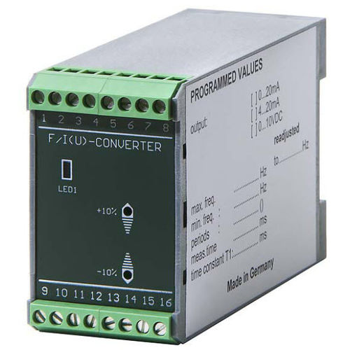 frequency-to-analog signal converter