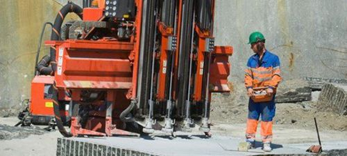 multi-function drilling rig / fixed / rotary / hydraulic