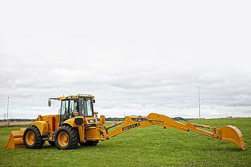 Articulated backhoe loader 926E / 928E Hydrema A/S