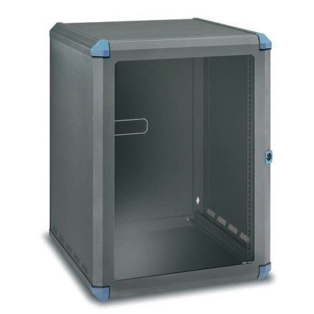 Secure cabinet / wall-mount / 19