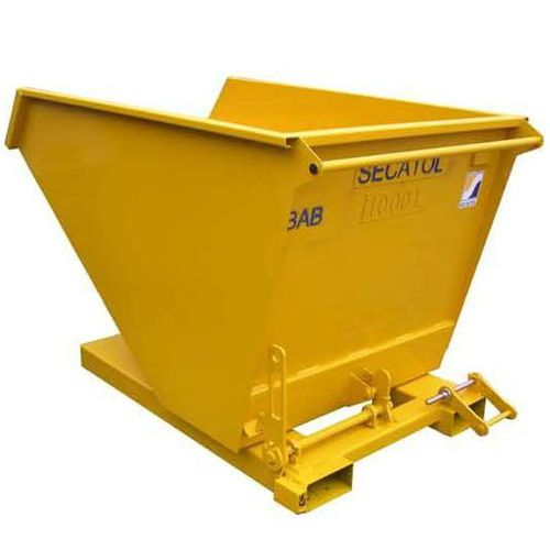 waste self-dumping hopper / wheeled