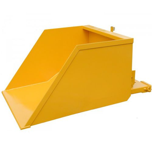 bulk material fork mounted scoop