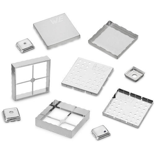 small-size enclosure / modular / plastic / tin