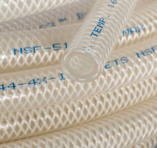 chemical product hose / for beverages / high-pressure / cleaning