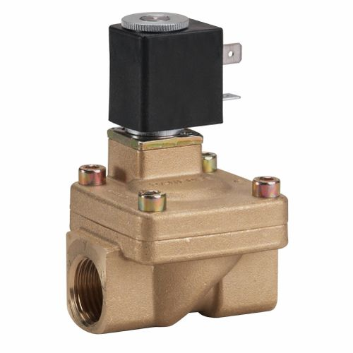 pilot-operated solenoid valve / 2/2-way / NC / NO