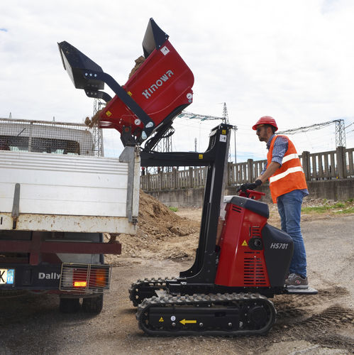 tracked mini dumper - HINOWA SPA