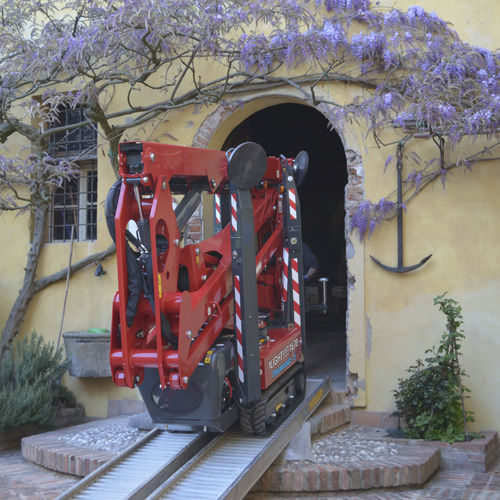 crawler spider lift - HINOWA SPA