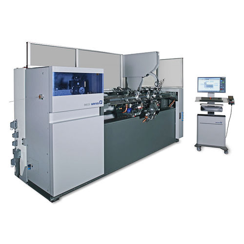 electric bending machine / for wires / twin-head / CNC