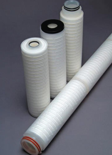 Water filter cartridge / depth / fiberglass / pleated GGD Critical Process Filtration
