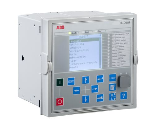 Phase protection relay / panel-mount / programmable / digital RED615 IEC ABB Oy Distribution Automation