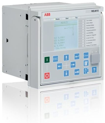 Over-voltage protection relay / under-voltage / panel-mount / programmable REU615 IEC ABB Oy Distribution Automation